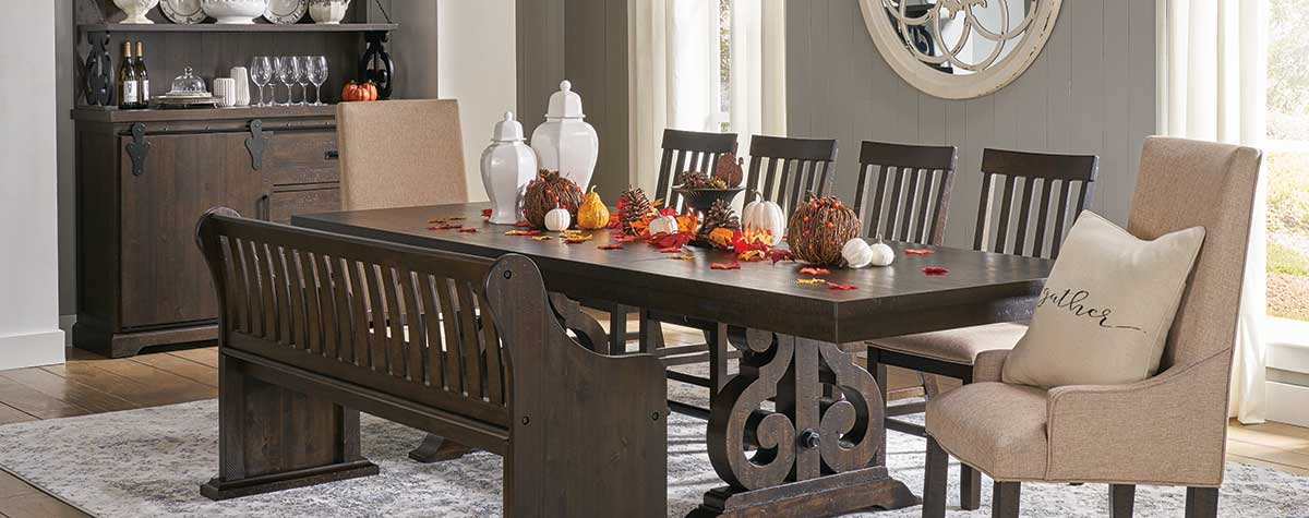 Groovy How To Decorate Your Dining Room Table For Thanksgiving Download Free Architecture Designs Sospemadebymaigaardcom