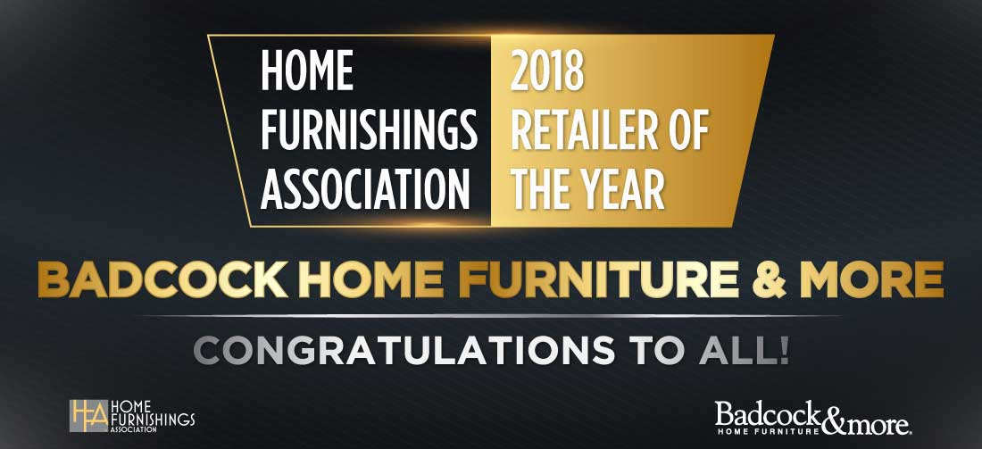 Badcock Home Furniture & More named Home Furnishings Association 2018 Retailer of the Year