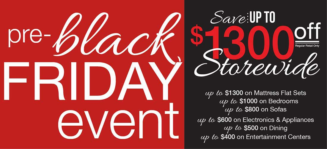 Badcock Black Friday Furniture Sale
