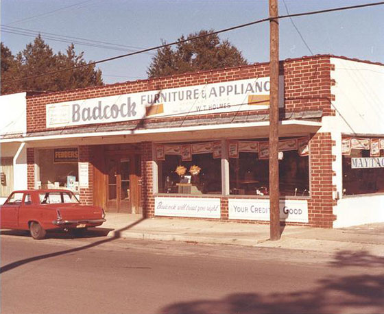 Picture of Badcock storefront: Green Cove Springs, 1970