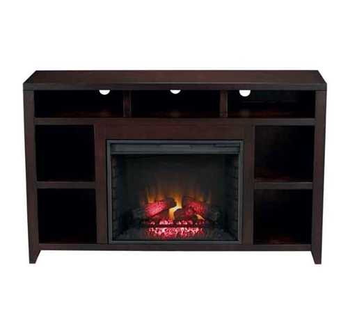 "Picture of URBAN LOFT 62"" TV CONSOLE W/ FIREPLACE"