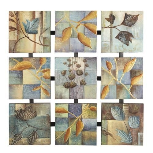 Picture of BOTANICAL COLLAGE WALL ART