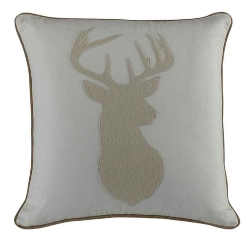 Picture of BUCK HEAD ACCENT PILLOW