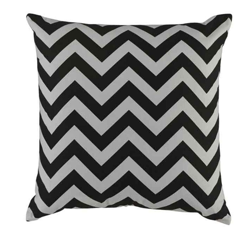 Picture of BLACK & WHITE ACCENT PILLOW