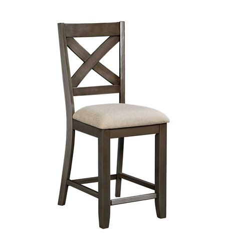 Picture of DALLAS GREY COUNTER DINING CHAIR