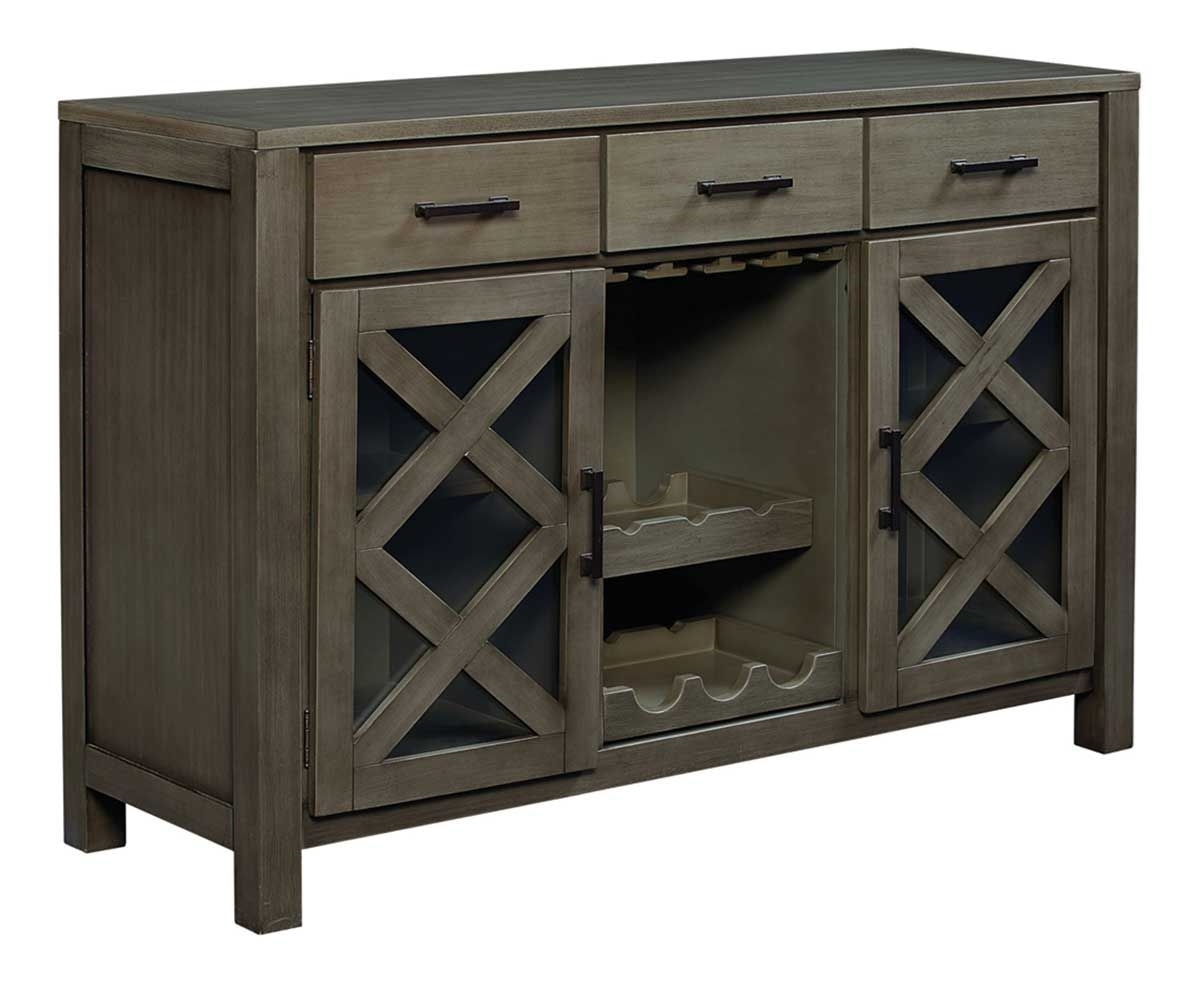 Picture Of DALLAS GREY DINING SIDEBOARD