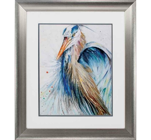 Picture of BLUE HERON II WALL ART