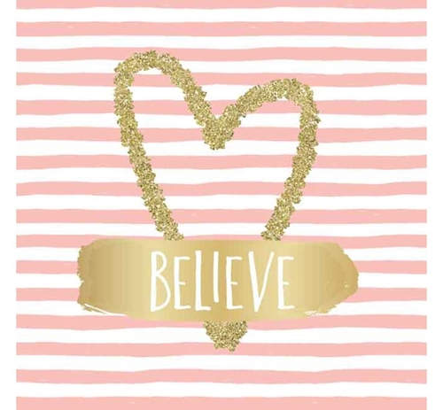 Picture of BELIEVE WALL ART
