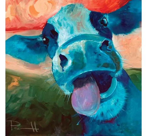 Picture of BETSY THE COW WALL ART