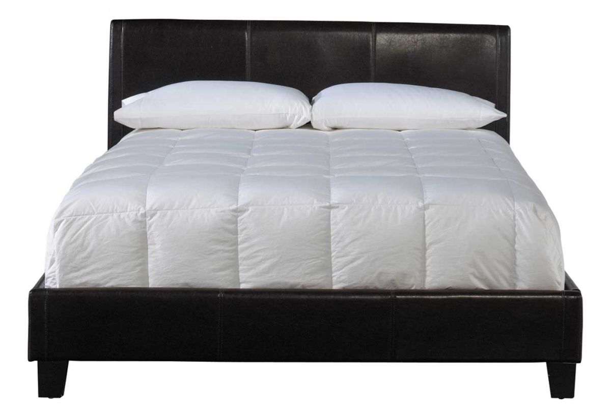 Marlow Brown Queen Upholstered Bed