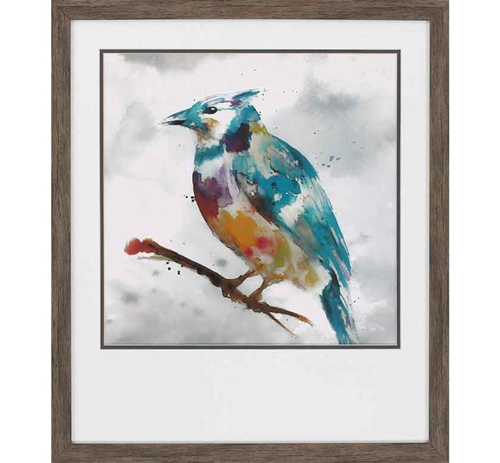 Picture of BLUE JAY WALL ART