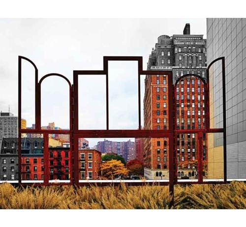 Picture of CITY SCENE WALL ART