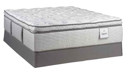 Picture of SERTA CENTURY SIGNATURE IMPERIAL SKY II TWIN XL MATTRESS SET
