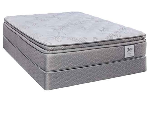Picture of SERTA CENTURY INDIGO BAY II QUEEN MATTRESS SET