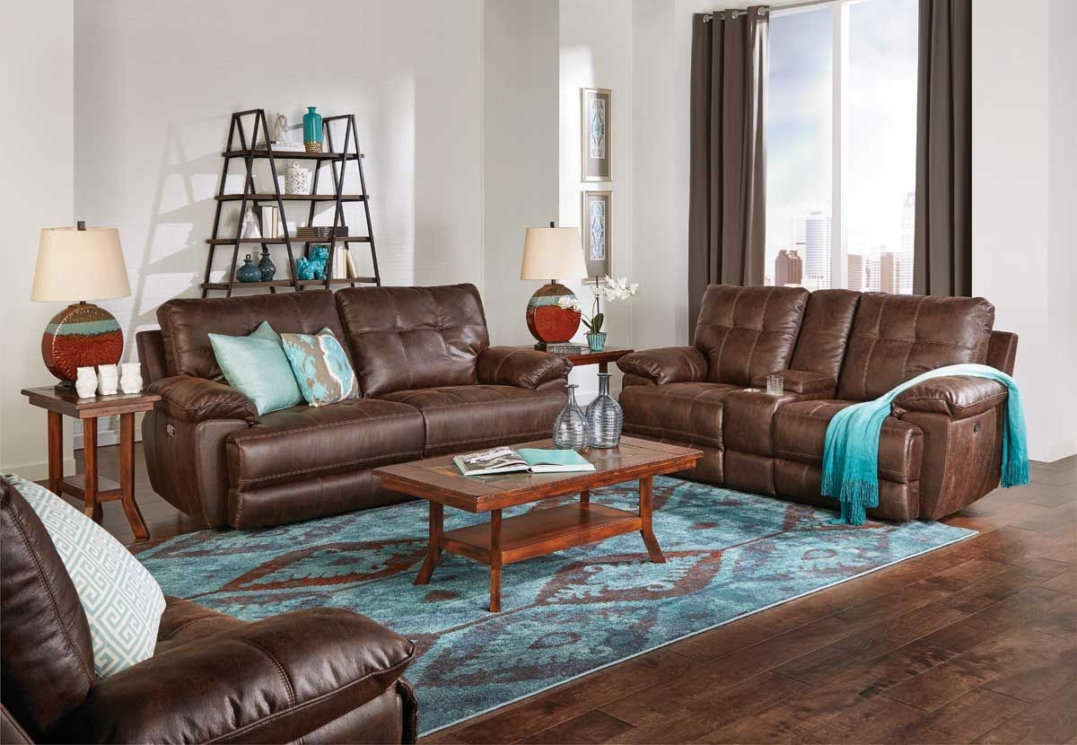 ... Picture Of BADLANDS RECLINING SOFA
