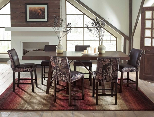 Picture of DALLAS CAMO 5 PC COUNTER DINING SET