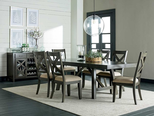Picture of DALLAS GREY 5 PC DINING SET