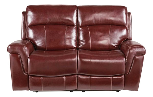 Picture of BUCKHEAD SADDLE RECLINING LOVESEAT
