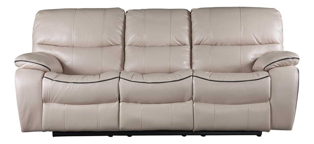 Picture Of Hamilton Cream Reclining Sofa