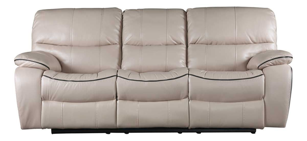Picture Of Hamilton Cream Reclining Sofa