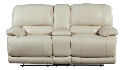Picture of HARRINGTON CREAM PWR CONSOLE LOVESEAT