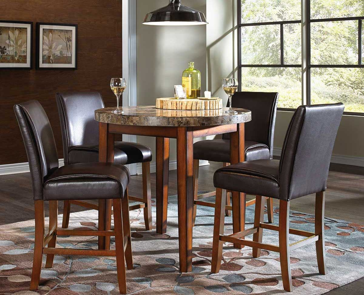 Picture Of MONTE CARLO 5 PC COUNTER DINING SET ...