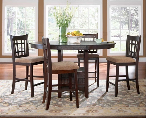 Picture Of RANDOLPH II 5 PC DINING SET ...