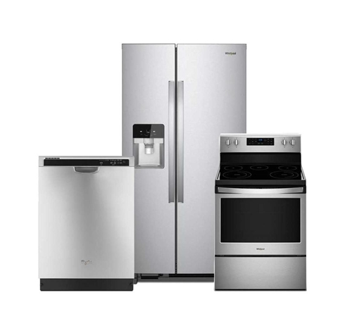 Picture of Whirlpool 3 PC Stainless Steel Package