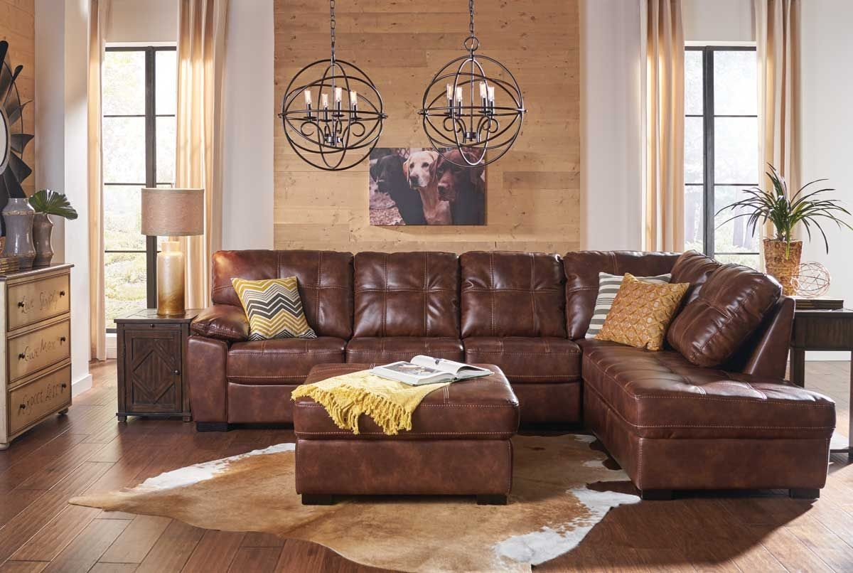 Bannon Brown 2 Pc Sectional Badcock Amp More