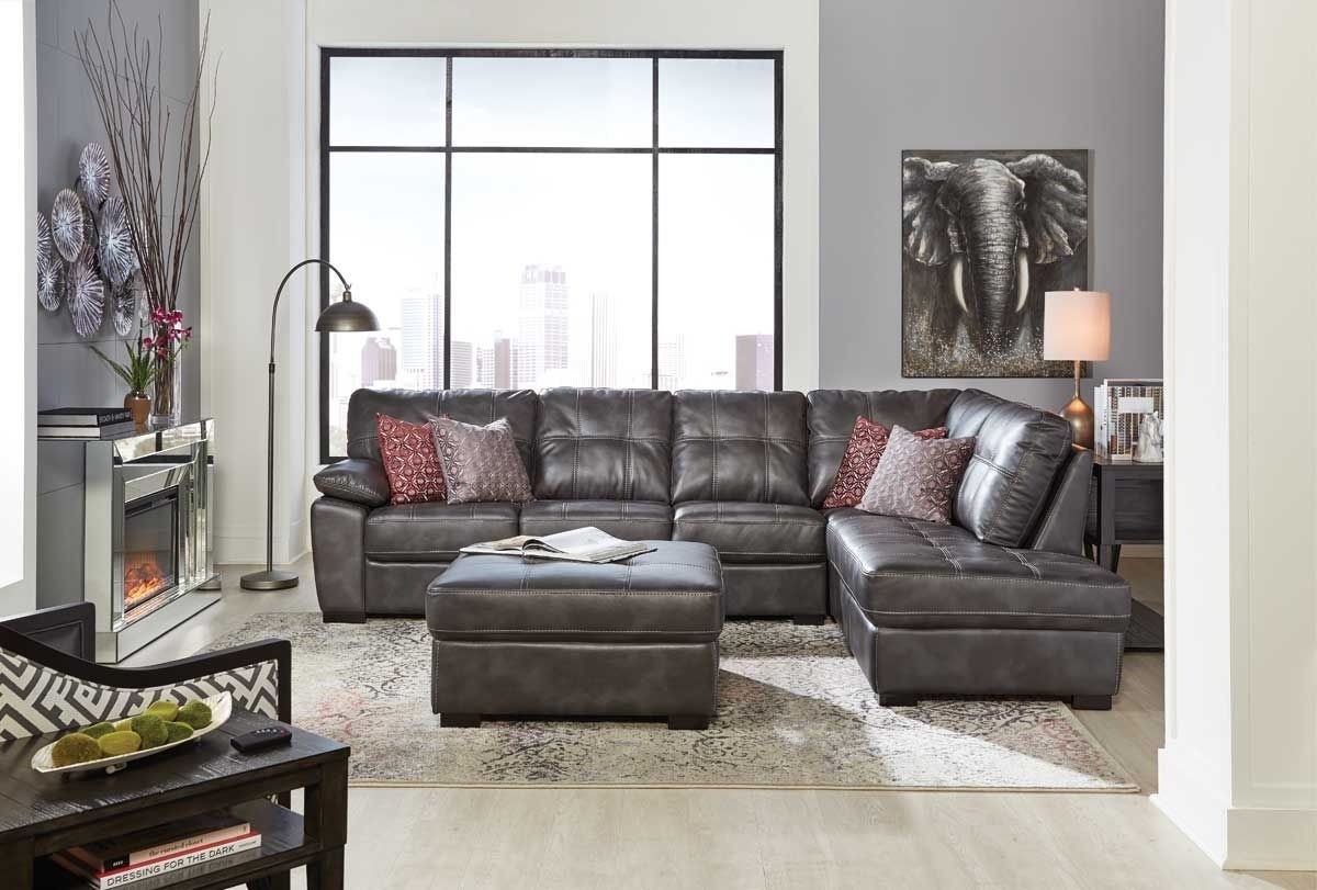 Gentil BANNON GREY 2 PC SECTIONAL