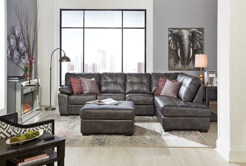Picture of BANNON GREY 2 PC SECTIONAL