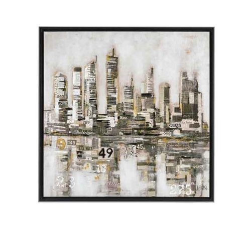 Picture of CITY WORDS WALL ART