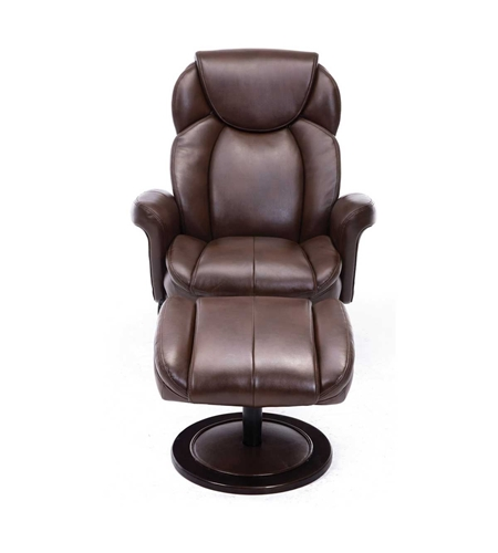 Picture of DUVAL PUSH BACK RECLINER & OTTOMAN