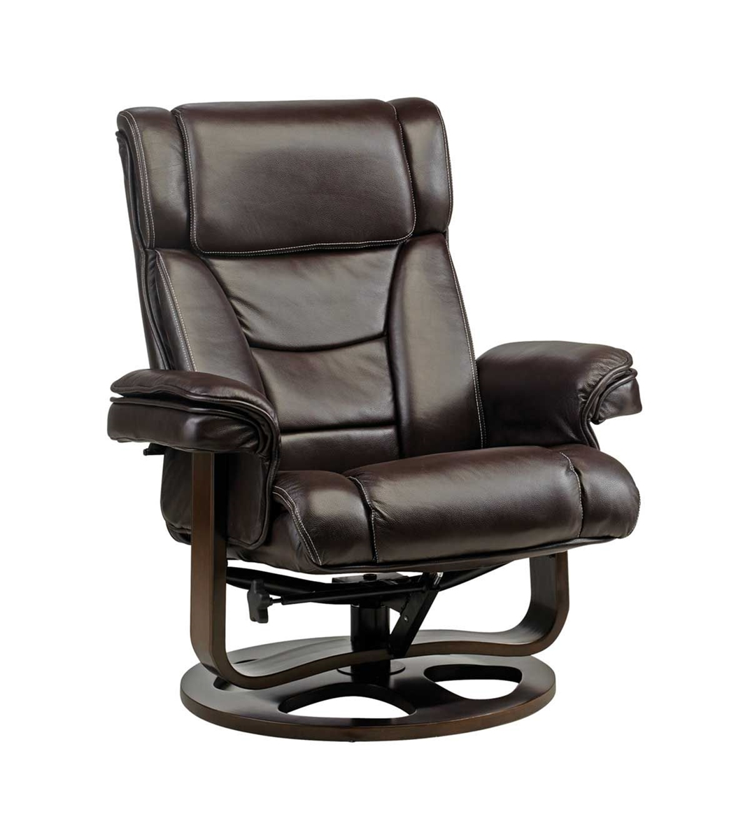 ... Picture Of HESTON SWIVEL RECLINER U0026 OTTOMAN ...