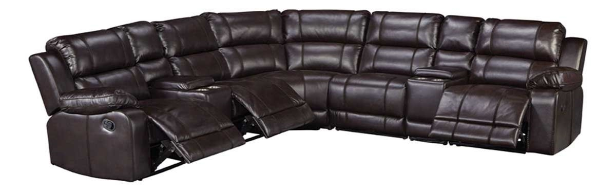 BRISTOL 8 PC SECTIONAL W/RAF RECLINER | Bad &more on chaise sofa sleeper, chaise furniture, chaise recliner chair,