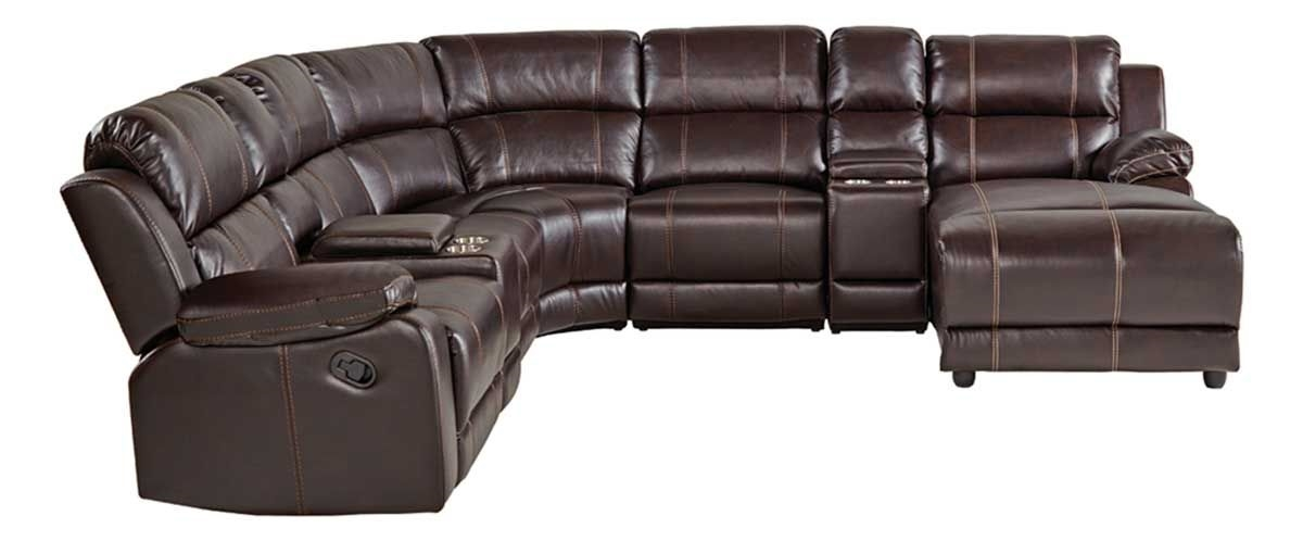 BRISTOL 8 PC SECTIONAL W/ RAF PRESSBACK CHAISE | Bad &more on chaise sofa sleeper, chaise furniture, chaise recliner chair,
