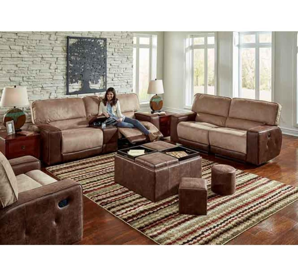 ... Picture Of PASADENA 3 PC CONSOLE SOFA ...
