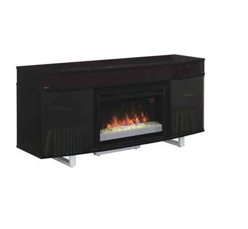 "Picture of ENTERPRISE 64"" TV CONSOLE W/ FIREPLACE"