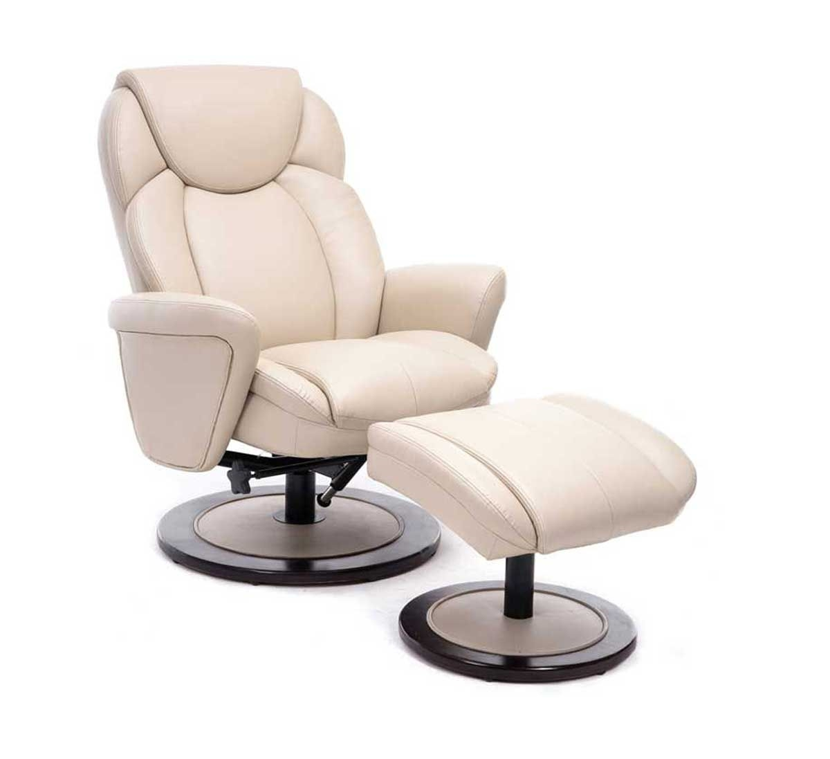 Picture Of DUVAL PUSH BACK RECLINER U0026 OTTOMAN Recliner And Ottoman B0