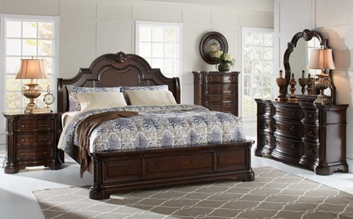 Picture of Alexandria 5 Pc Queen Bedroom Group