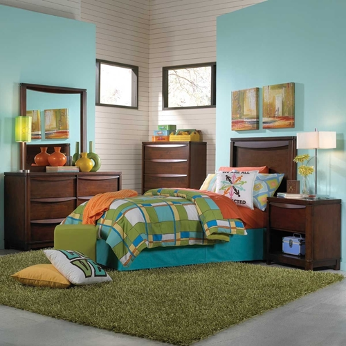 Picture of Brady 5 pc Twin Bedroom Group