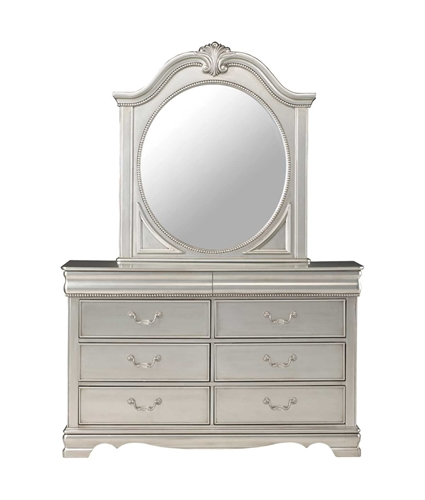 Picture of GRACE SILVER DRESSER & MIRROR