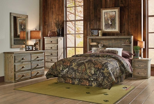 Picture of MOSSY RETREAT 3 PC FULL BEDROOM GROUP