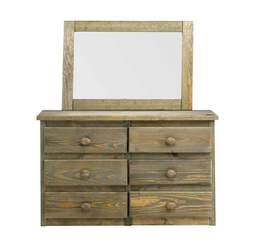 Picture of MOSSY RETREAT DRESSER & MIRROR