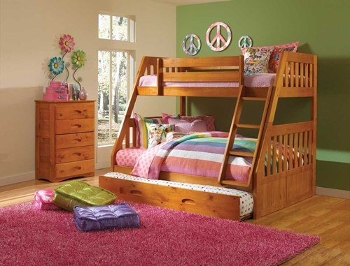 Picture of Kendall Twin/Full Bunk Bed