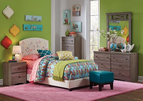 Picture of CARLA 5 PC TWIN YOUTH BEDROOM GROUP