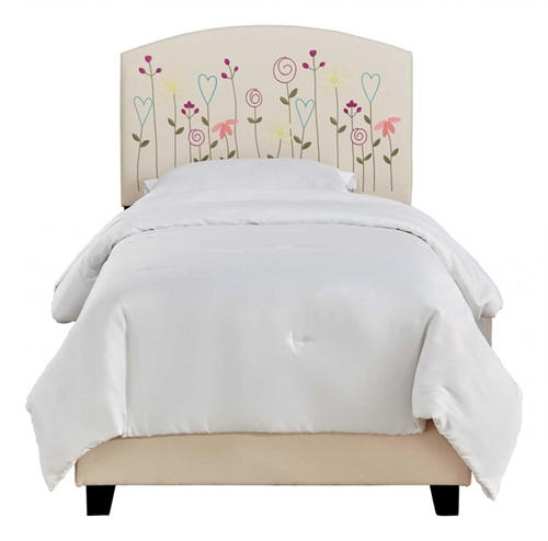 Picture of CARLA TWIN UPHOLSTERED BED