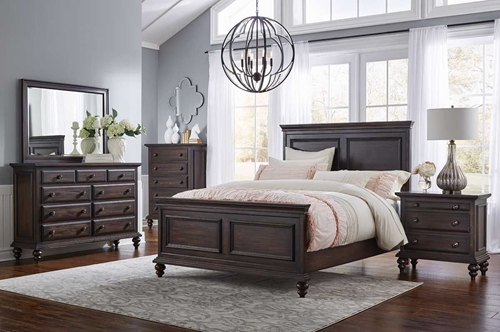 Picture of CONTINENTAL 5 Pc Queen Bedroom Group