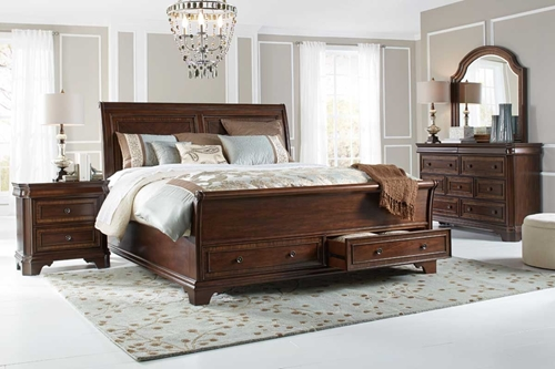 Picture of Fairmont 5 Pc King Storage Bedroom Group