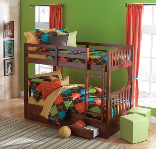Picture of Forrester Twin Bunk Bed